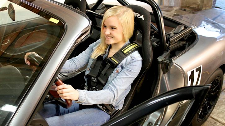 Rennsitze Im Mazda Mx5 Nbfl